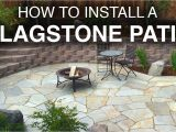 Decomposed Granite with Resin How to Install A Flagstone Patio Step by Step Youtube