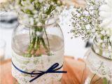 Decoracion De Bodas Sencillas Y Economicas En Casa Mason Jars with Pearls and Lace Lace and Pearl Mason Jars Full