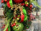 Decoracion Navideña Para Puertas De Entrada Sencilla 49 Best Wreaths Images On Pinterest Christmas ornaments Christmas