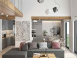 Decoracion Salas Y Comedores Juntos Fresh Contemporary Living Space with Minimalist tones In Ukraine