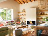 Decoraciones Para Salas Y Comedores Juntos Sala N Raostico Con Comedor Con Chimenea Y Estantes Salones Modernos