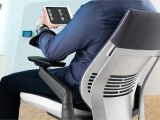 Desk Chair with Leg Rest Gesture Ergonomic Office Desk Chair Steelcase