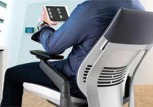 Desk Chair with Leg Rest Gesture Ergonomic Office Desk Chair Steelcase