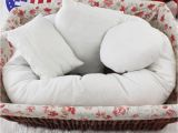 Different Types Of Pillow Stuffing Outad Baby Newborn Pillow Basket Filler Baby Cushion Infant