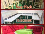 Discontinued Park Design Curtains Diy Ikea Hack Aus 8 Stuhlen Wird Eine Groa E Eckbank Bzw Lounge