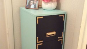 Diy 2 Drawer File Cabinet Desk Filing Cabinet Makeover Black Chalkboard Paint On the Drawers