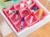 Diy Bra and Underwear Drawer organizer Amazon Com Coralpearl Plastic Desk Diy Grid Drawer Dividers