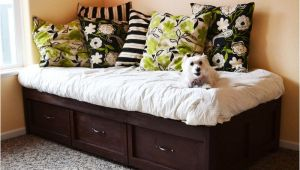 Diy Daybed with Trundle Ana White Daybed with Storage Trundle Drawers Diy Projects