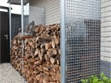 Diy Indoor Firewood Rack 25 Ideas Of Storing Wood Smartly Fireplace Pinterest Wood