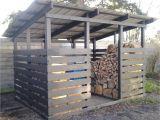 Diy Indoor Firewood Rack Modern Firewood Shed Black Outdoors Pinterest Wood Shed