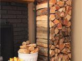 Diy Indoor Firewood Rack Plumbing Pipe Firewood Holder Home Decor Pinterest Home Home