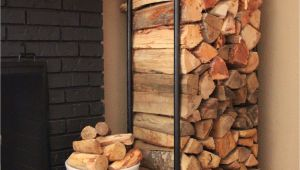 Diy Indoor Firewood Rack Plumbing Pipe Firewood Holder Home Decor Pinterest Home Home