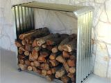 Diy Indoor Firewood Storage Rack Corrugated Firewood Rack A Unique Way to Store Firewood Outside