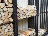 Diy Indoor Firewood Storage Rack Holzvorrat In Schon Und Praktisch Interieur Praktisch Garten