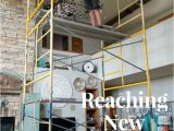 Diy Painting with A Twist at Home Reaching New Heights Scaffolding How to A Chandy