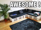 Diy Sectional sofa Frame Plans Making the Cutest Diy Pallet Couch Youtube