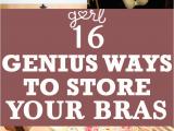 Diy Underwear Drawer organizer 15 Clever Ways to Store and organize Your Bras organization