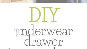 Diy Underwear Drawer organizer Underwear Drawer organizer Diy organization Pinterest Domov