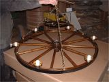 Diy Wagon Wheel Ceiling Fan Build Wagon Wheel Chandelier the Wooden Houses