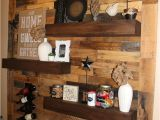 Diy Wood Pallet Picture Display Dining Room Remodel Pallet Wall Floating Shelves Diy Home