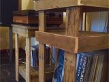 Diy Wood Pallet Picture Display Stereo and Record Player Stands Built From Reclaimed Pallets