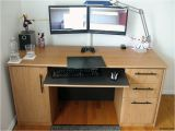 Diy Wooden Triple Monitor Stand Persimmon Gauge A Diy Dual Monitor Stand for Twin Lcds