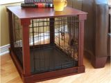 Dog Crate Divider Diy Merry Products Deluxe Wood and Wire Dog Crate Ebay