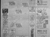 Don S Tire Abilene Ks the Abilene Daily Reporter Abilene Tex Vol 24 No 278 Ed 1