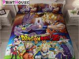 Dragon Ball Z Comforter Set Dragon Ball Z Blanket Bed Sheets Covers Anime Print House