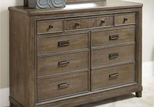 Drop Pulls for Dressers Contemporary 9 Drawer Dresser with Drop top Center Drawer with Media