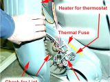Dryer thermal Fuse bypass Maytag Performa Dryer thermal Fuse Kit Home Depot thermal