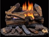 Duluth forge Ventless Gas Log Reviews Shop Duluth forge Ventless Propane Gas Log Set 18 In