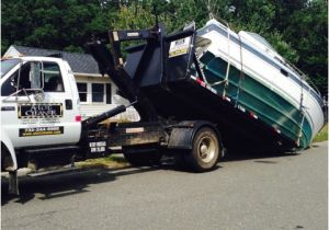 Dumpster Rental Brick Nj Boat Removal 24 Foot Brick Nj A Lot Cleaner Inc toms