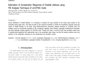 Dyna Storm Pre Workout Pdf Estimation Of Acceleration Response Of Freefall Lifeboat Using