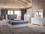 Eastern King Bed Size Vs King Acme Lorimar Ii Eastern King Bed Gray Pu White 22617ek