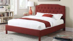 Eastern King Bed Size Vs King Clive Red Linen Eastern King Bed 24997ek Queen Beds Beds and King
