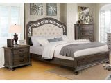 Eastern King Bed Versus California King Furniture Of America Brigette Ii Traditional 3 Piece Tufted