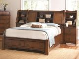 Eastern King Bed Versus California King Grendel Eastern King Bookcase Bed with Footboard Storage and Hutch