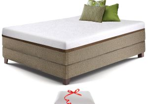 Eastern King Bed Vs Cal King Amazon Com Live Sleep Ultra King Mattress Gel Memory Foam