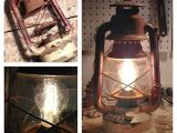 Electric Lanterns that Look Like Gas We Recently Converted This Rusted Looking Gas Lantern Into