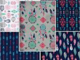 Emma and Mila Fabric Fat Quarter Bundle Of 5 Fqb4022 100 Cotton by