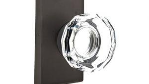 Emtek Lowell Crystal Cabinet Knob Emtek Bronze Lowell Crystal Door Knob Set Low Price Door