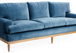 English Roll Arm sofa Tight Back English Roll Arm sofa Tight Back Luxury Sutton 89 sofa Harbor Blue