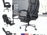 Ergonomic Office Chair with Leg Rest Highback Office Gaming Chair Tilt Reclining Ergonomic Executive