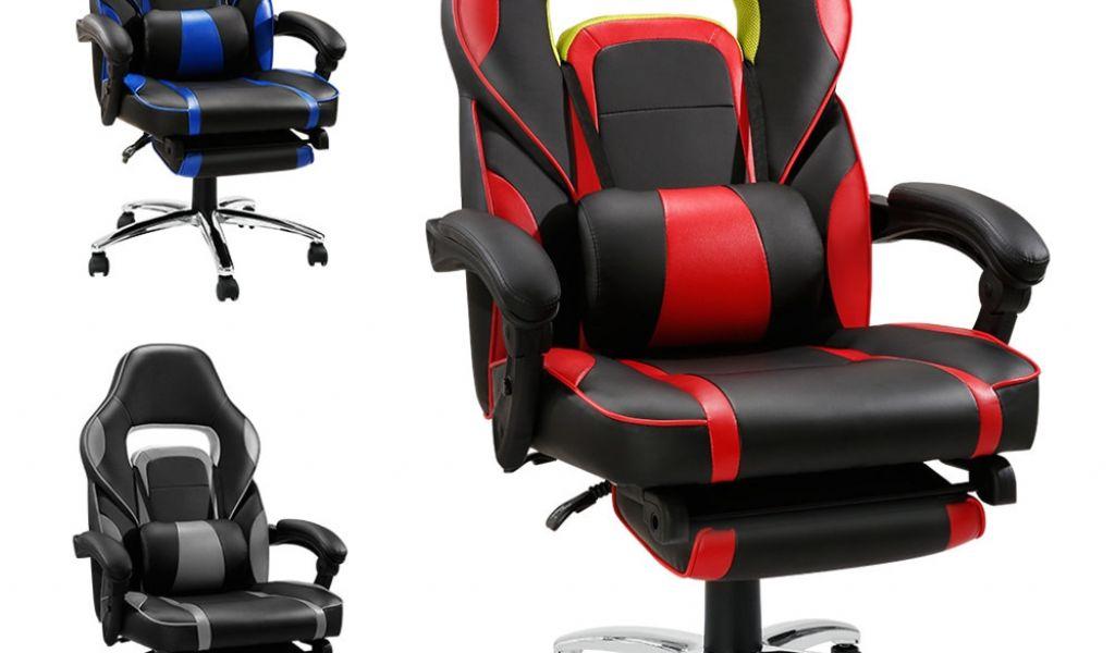 Ergonomic Office Chair With Leg Rest Langria Adjule