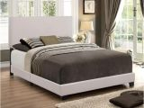 Erin Upholstered Panel Bed assembly Crown Mark Erin Beige King Upholstered Panel Bed