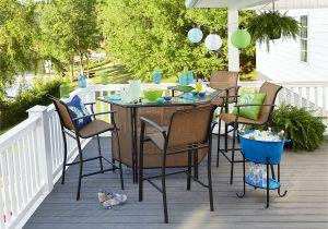 Essential Garden Fulton Bar Table Kmart Outdoor Furniture Outdoor Furniture U Accessories