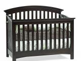 Essentials by Baby Cache Bliss Curved top Crib Baby Cache Bliss Essential Curved top Crib Espresso top