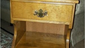 Ethan Allen Baumritter Bedside Table Ethan Allen by Baumritter Maple Nightstand End Table 1