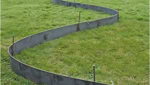 Everedge Steel Lawn Edging Everedge Titan Galvanised Steel Landscape Edging